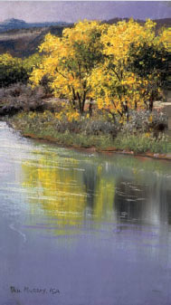Clickable Image: Plein Air aire pastel with Paul Murray, in New Mexico, Southwest workshop