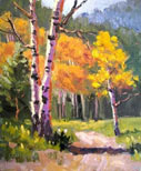Clickable Image: Autumn Colors in New Mexico, Southwest painting workshop