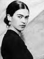 Clickable Image: Frida Kahlo dot com