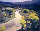 Clickable Image: Painting of the Rio Grande