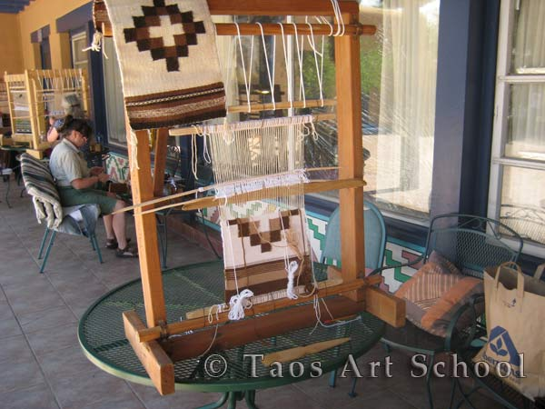 Taos Art School - Pearl Sunrise Weaving
